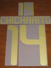 Authentic Chicharito Hernandez Mexico 14 Boys Kids Font Set Soccer Futbol Jersey