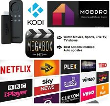 Amazon Fire TV Stick with Kodi 16.1 Fully loaded✔️Sports✔️Movies✔️TV✔️Shows