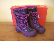 Girls SUPERFIT 58 GORETEX Burgundy SUEDE Zip Snow BOOT Size UK7.5 EUR 25 NEW!