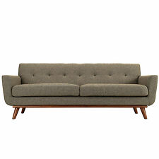 Modway Furniture EEI-1180-OAT Engage Sofa in Oatmeal Tweed NEW