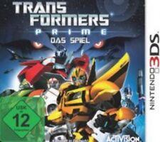 Nintendo 3DS Transformers PRIME DAS SPIEL  Deutsch TopZustand