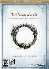 ELDER SCROLLS ONLINE: TAMRIEL UNLIMITED PC ROLEPLAYING NEW VIDEO GAME