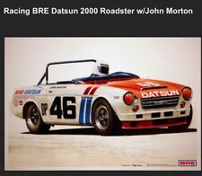 Racing BRE Datsun 2000 Roadster W/John Morton Car Poster New! Own It!