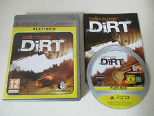 COLIN MCRAE DIRT - SONY PLAYSTATION 3 - JEU PS3 PLATINUM COMPLET