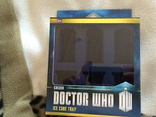 Doctor who  tardis and dalek ice cube, chocolate, and cake  silicone mould  tray