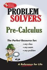 Acc, Pre-Calculus Problem Solver (REA) (Problem Solvers), The Staff of REA, Denn