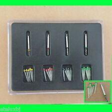 Bid 24 Pcs Dental Endo Quartz Tiber Fiber Post Drill Thread Glass Protaper Files