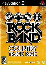 Rock Band: Country Track Pack USED SEALED (Sony PlayStation 2, 2009)
