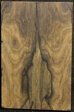 Ziricote x Knife Scales x Cut Slab x Rare x With Mostly Landscape Figured ZIKS16