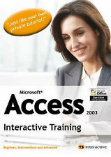 Microsoft Access 2003: Interactive Training (PC CD-ROM) ~SUPER FAST DISPATCH~