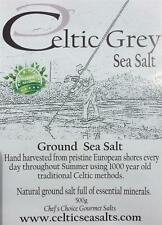 *250G GROUND CELTIC GREY SEA SALT FROM CELTICSEASALTS Co..CELTIC SEA SALT Co*