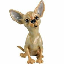 Arora Pets with Personality Tiffany Chihuahua Figurine Dog Lovers Gift Boxed