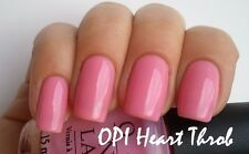 New OPI **HEART THROB** Rosy Bubble Gum Pink Sheer Girly Nail Polish Lacquer H18