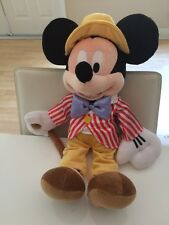 "Authentic Retired Disney Store Big 17"" Mickey Mouse Plush main street park Club"