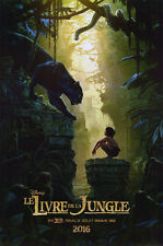 Jungle Book - original DS movie poster  D/S 27x40 - 2016 FRENCH Canadian Advance