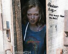 "Madison Lintz from The Walking Dead Sophia AMC 8x10"" reprint Signed Photo #1 RP"