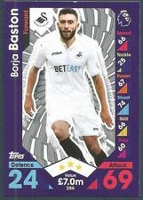 TOPPS MATCH ATTAX 2016-17 #286-SWANSEA CITY-BORJA BASTON