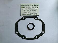 Land Rover Serie 2, 2a & 3 Caja De Dirección Lateral Junta & Caucho / Tórica