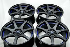 17 Drift Rims Wheels Element Fusion Elantra Neon Civic RSX Eclipse 5x100 5x114.3