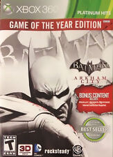 Batman: Arkham City Game of the Year Edition Xbox 360 Brand New Sealed