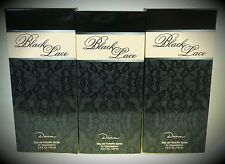 3 x Dana Black Lace Eau de Toilette ( EdT ) 60 ml Spray = 180 ml