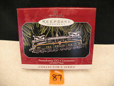 Hallmark Christmas Ornament Lionel PENNSYLVANIA GG-1 LOCOMOTIVE Train Mint 1998
