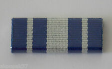 VICTORIA  POLICE SERVICE MEDAL RIBBON BAR PLASTIC COVERED WITH 2 PINS