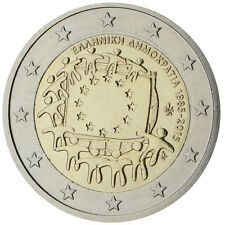Greece 2015 - 2 Euro Comm - 30th Anniversary of the European Flag (UNC)