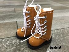 SALE Blythe Pullip 1/6 12 inch Dolls Light Brown Shoes Boot