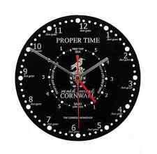 Acrylic Time + Tide Wall Clock - Proper Time -  WC.B.PTT01