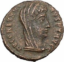 CONSTANTINE I the GREAT Cult  Ancient Roman Coin Christian Deification  i37830
