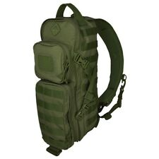 HAZARD4 EVC-PLB TACTICAL MOLLE PLAN -B FRONT/BACK MODULAR SLING PACK OD GREEN