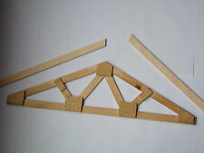 Plans How To Build Make Your Own Custom Size Web Wood Roof Truss Level Overhangs