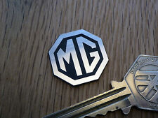 "Mg OTTAGONO Logo Self Adesivo Auto BADGE 1 ""classico Racing Sports MGB Midget MGA"