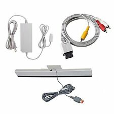 Wii Replacement Cables Set Nintendo Wii Component AV Audio Video Cable Wired 7Z