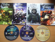 WARHAMMER 40,000 DAWN OF WAR COMPLETE PC winter assault soulstorm & dark crusade