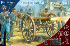 Perry Miniatures American Civil War Artillery 1861-65 Plastic Box Free UK P&P
