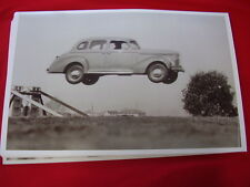 1939 STUDEBAKER CHAMPION  IN MID AIR JUMP   11 X 17  PHOTO   PICTURE