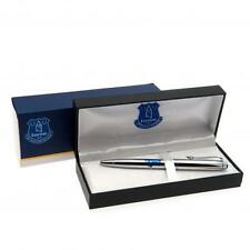 Everton Executive Pen in Gift Box -Chrome Ball Point Pen-Football Christmas Gift