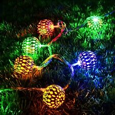 New Multicolor 20Ball LED String Lights Diwali Christmas Garden Party Decoration