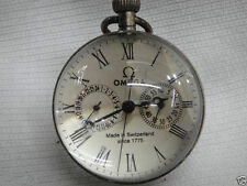Collectables Works CHINESE vintage BRASS GLASS pocket watch BALL clock