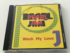 "Pearl Jam ""WASH MY LOVE"" Live Hollywood Palladium 92 RARE - MINT silver bootleg"