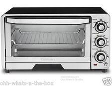 Broiler Toaster Oven Cuisinart Conveyor 6 Slice Toast Med Pizza Bagel 1800W