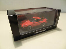 Porsche 911 Turbo Typ 930 - 1977 - indian red - Minichamps 1:43!