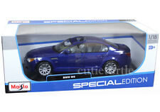 Maisto Bmw M5 E60 1:18 Diecast Model Car Blue 31144