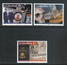 Gibraltar 2005 Local Anniversaries--Attractive Topical (1018-20) MNH