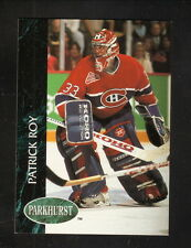 Patrick Roy--1992-93 Parkhurst--Montreal Canadiens