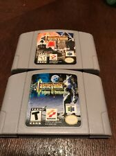 Castlevania + Castlevania: Legacy of Darkness (Nintendo 64, N64) 2 Game Lot