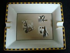 Authentic HERMES Porcelain Vintage Cigar Ashtray