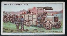 French Army  Motor Tractor  World War 1  Mechanised Warfare  Vintage Card